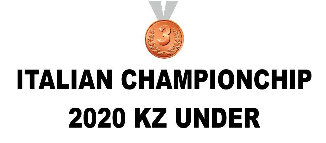Italain Champion 2020 3°